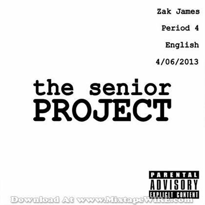 Zak_James_The_Senior_Project_Mixtape