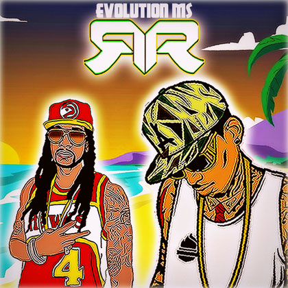 2-chainz-kid-ink-cartoon-evolution-summer-2013