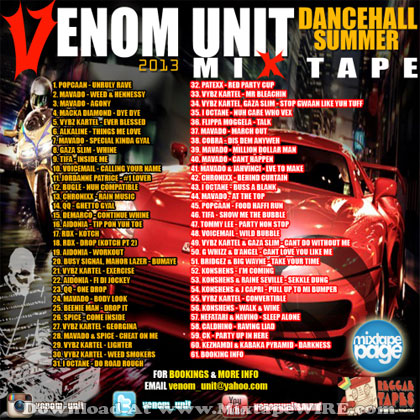 venom-unit-dancehall-summer-2013