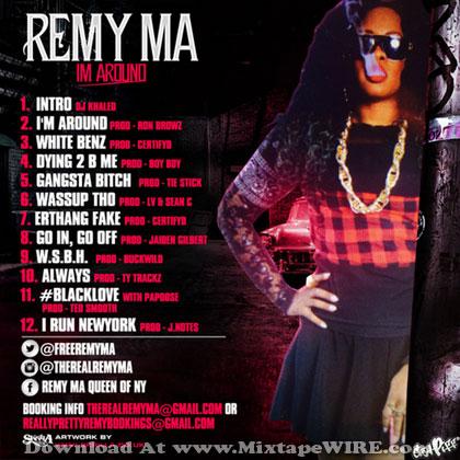 Remy-Ma-Im-Around-Tracklist