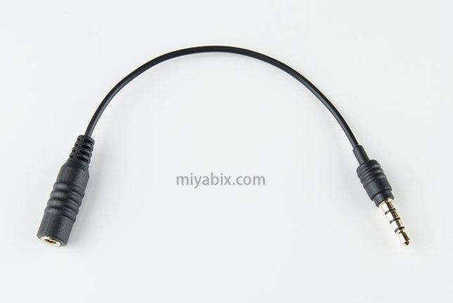 MPA-EHPS01BK,イヤホンジャック,0.1m