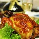 鶏,肉,しめる