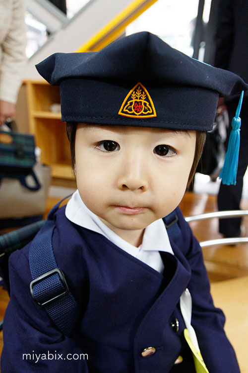 幼稚園,入園式