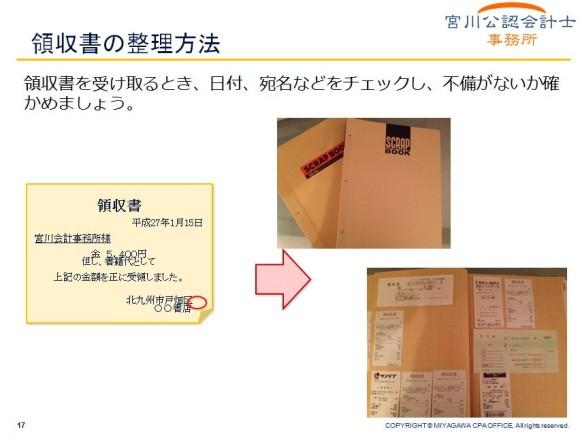 領収書の整理