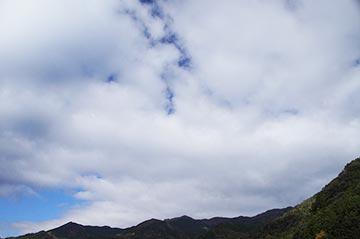 12日の空の写真