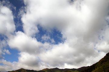 21日の空の写真