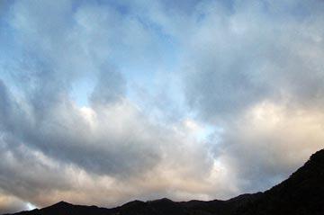 14日の空の写真