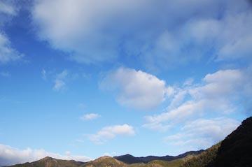 29日の空の写真