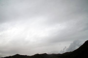 15日の空の様子