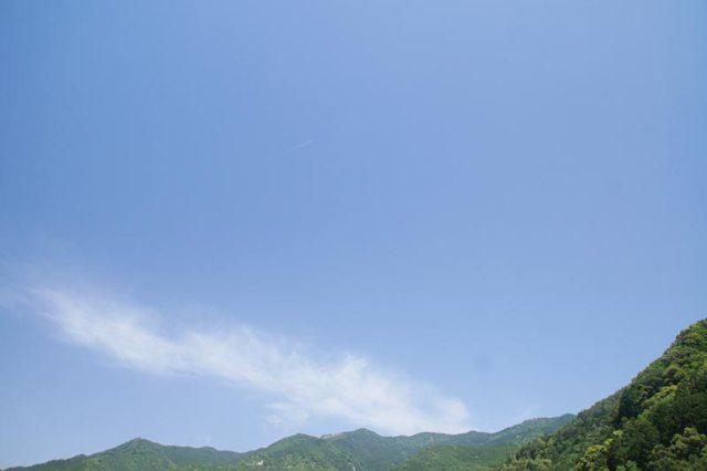 27日の空の様子