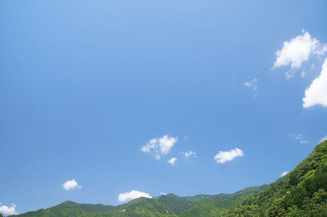 2日の空の様子