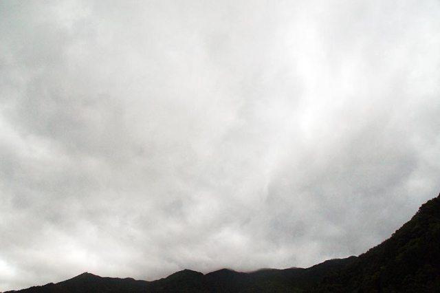 13日の空の様子