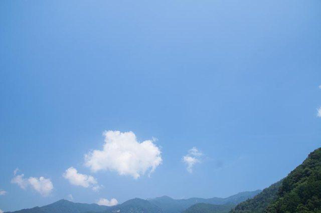 16日の空の様子
