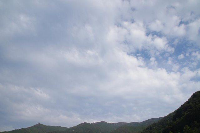 6日の空の様子