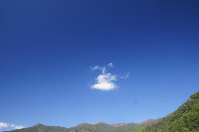 28日の空の様子