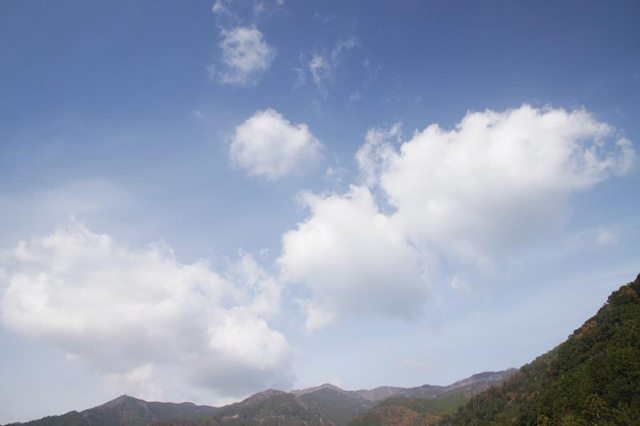1日の空の様子