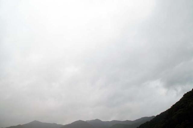 30日の空の様子