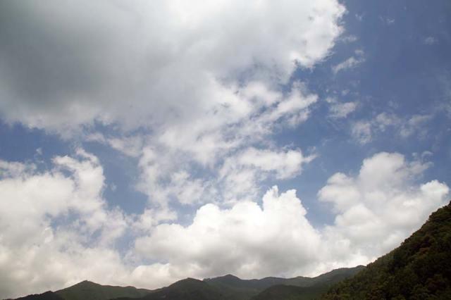 25日の空の様子