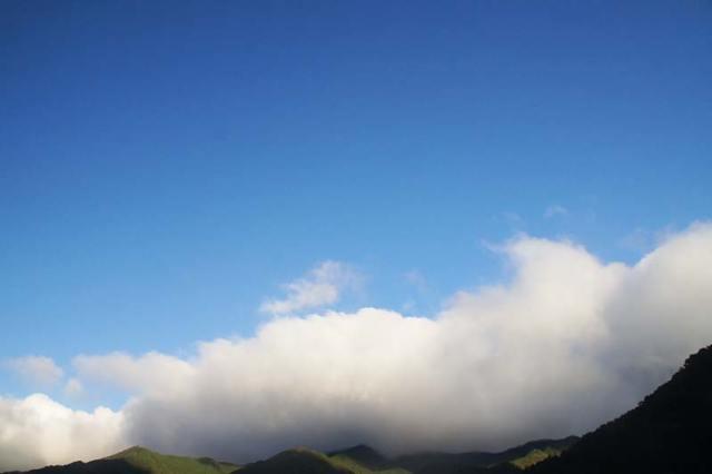 10月13日の空の様子