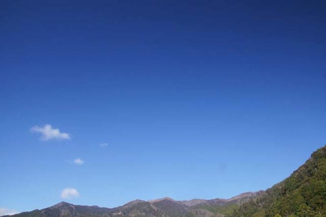 1月2日の空の様子
