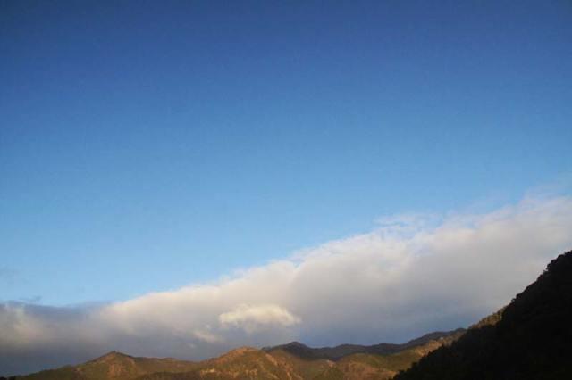 2月1日の空の様子