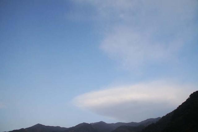 2月3日の空の様子