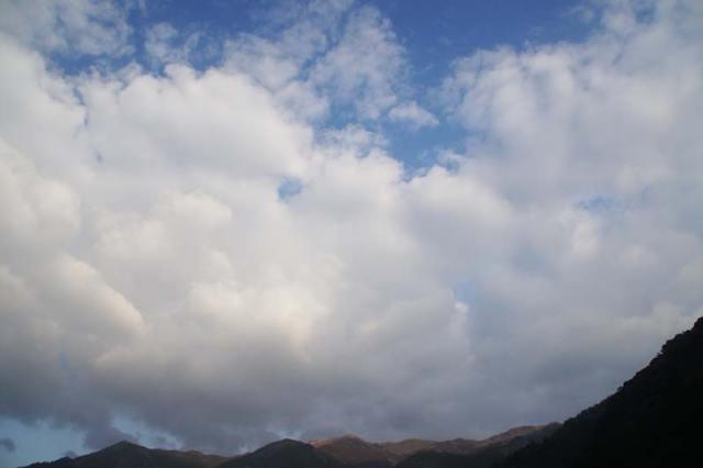 3月18日の空の様子
