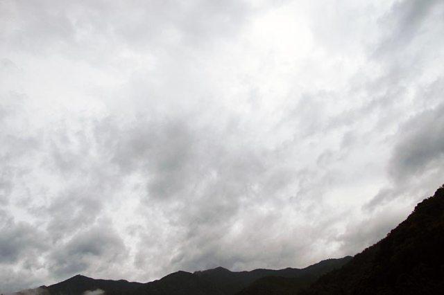 6月13日の空の様子