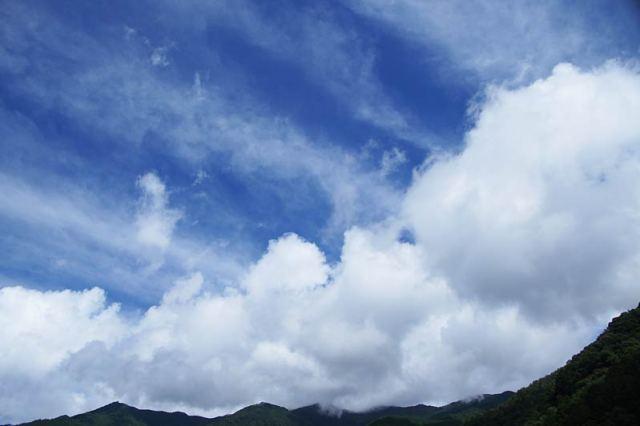 7月19日の空の様子