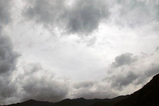 7月23日の空の様子