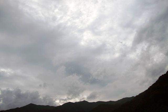 7月28日の空の様子