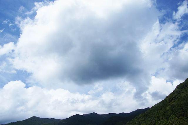 9月11日の空の様子