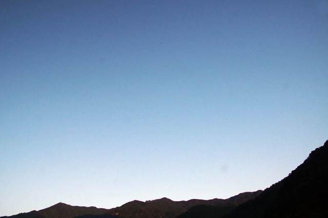 10月2日の空の様子