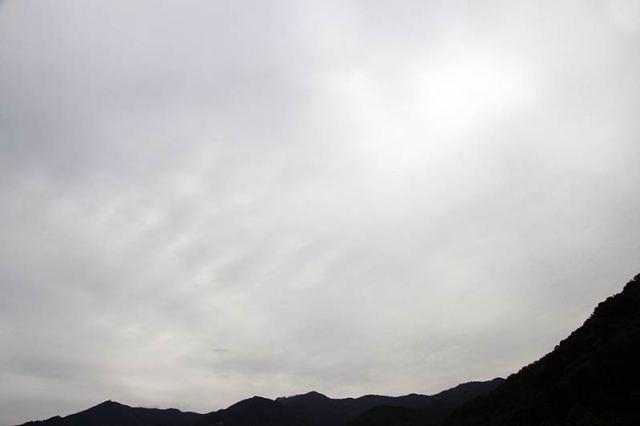 10月7日の空の様子