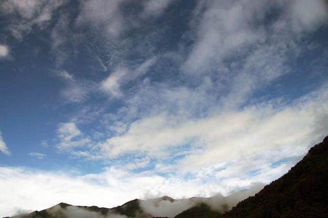 10月18日の空の様子