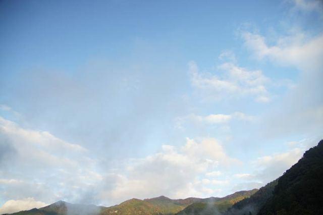 11月2日の空の様子