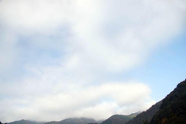11月18日の空の様子