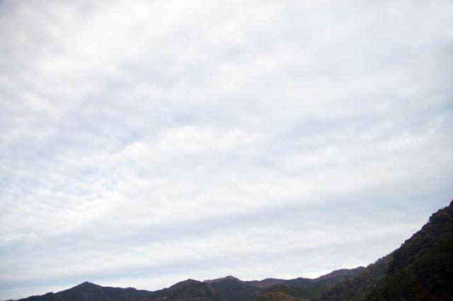 11月30日の空の様子