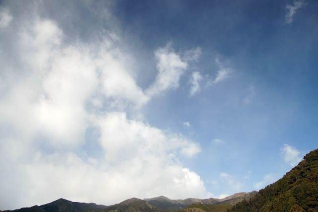 1月9日の空の様子