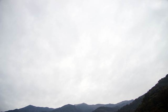 1月22日の空の様子