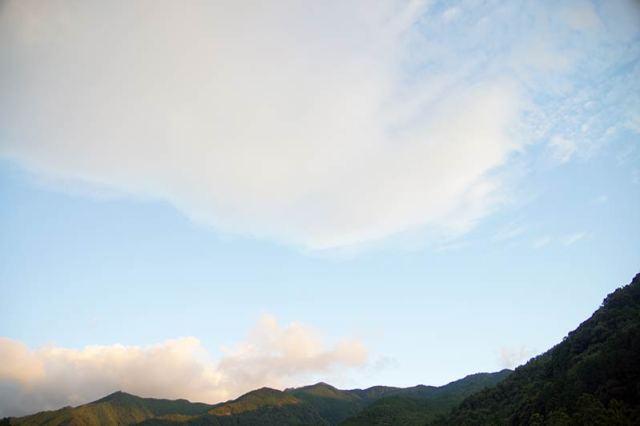 8月10日の空の様子
