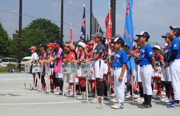 第40回群馬県スポーツ少年団春季ソフトボール交流大会