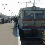 チェルノブイリ原発への通勤電車