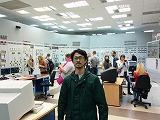 ザポロージェ原発・制御室内