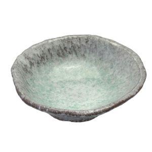 Aoyu Green Warp Bowl L