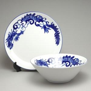 In-Glazed Blue Dragon