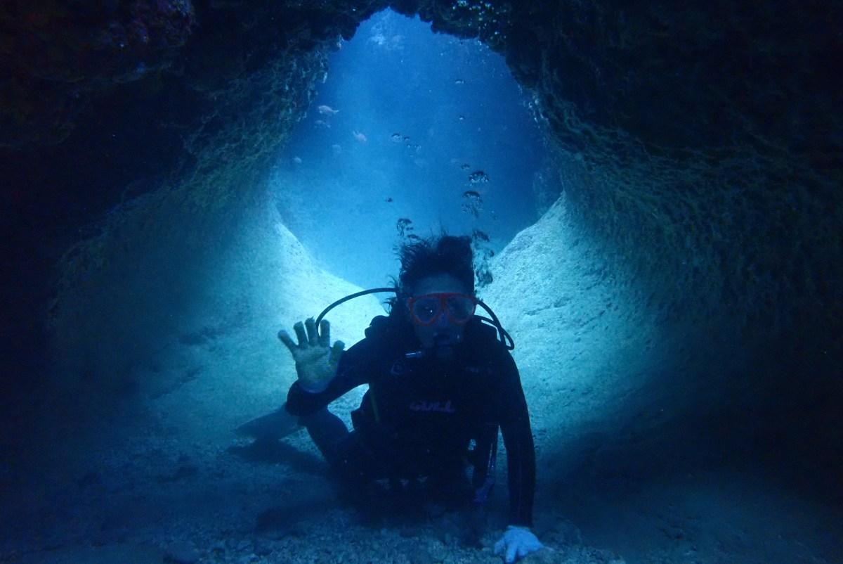 下地島・伊良部島でボート体験ダイビング