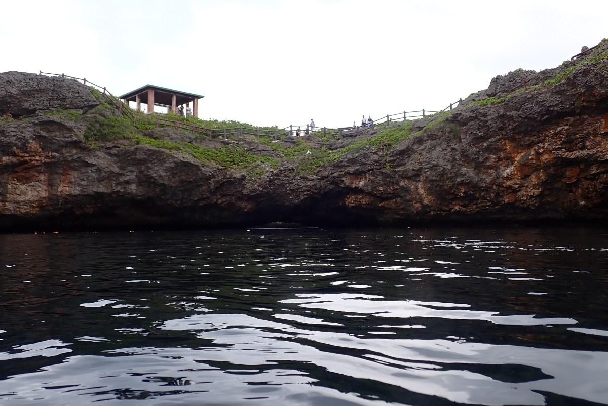 ダブル通り池と中の島でファンダイビング