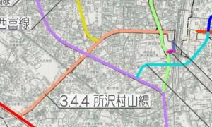 所沢市都市計画道路整備事業(3.4.4所沢村山線)
