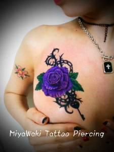 mitawaki tattoo rose
